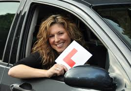 Rookie Driver lady-l-plate pic
